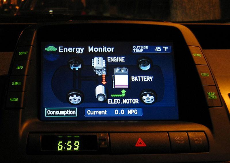 Toyota Prius Hybrid Electric Vehicle