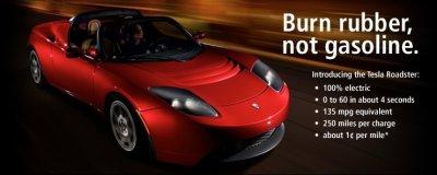 Tesla Roadster Sport Electric Vehicles News